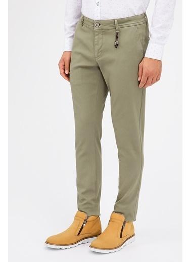 Avva Slim Fit Pantolon Haki